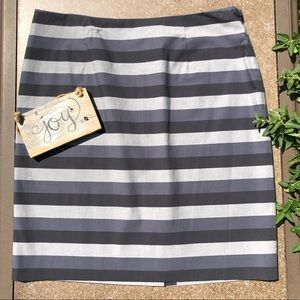 🎈NEW LISTING! HALOGEN Striped Pencil Skirt Sz. 12